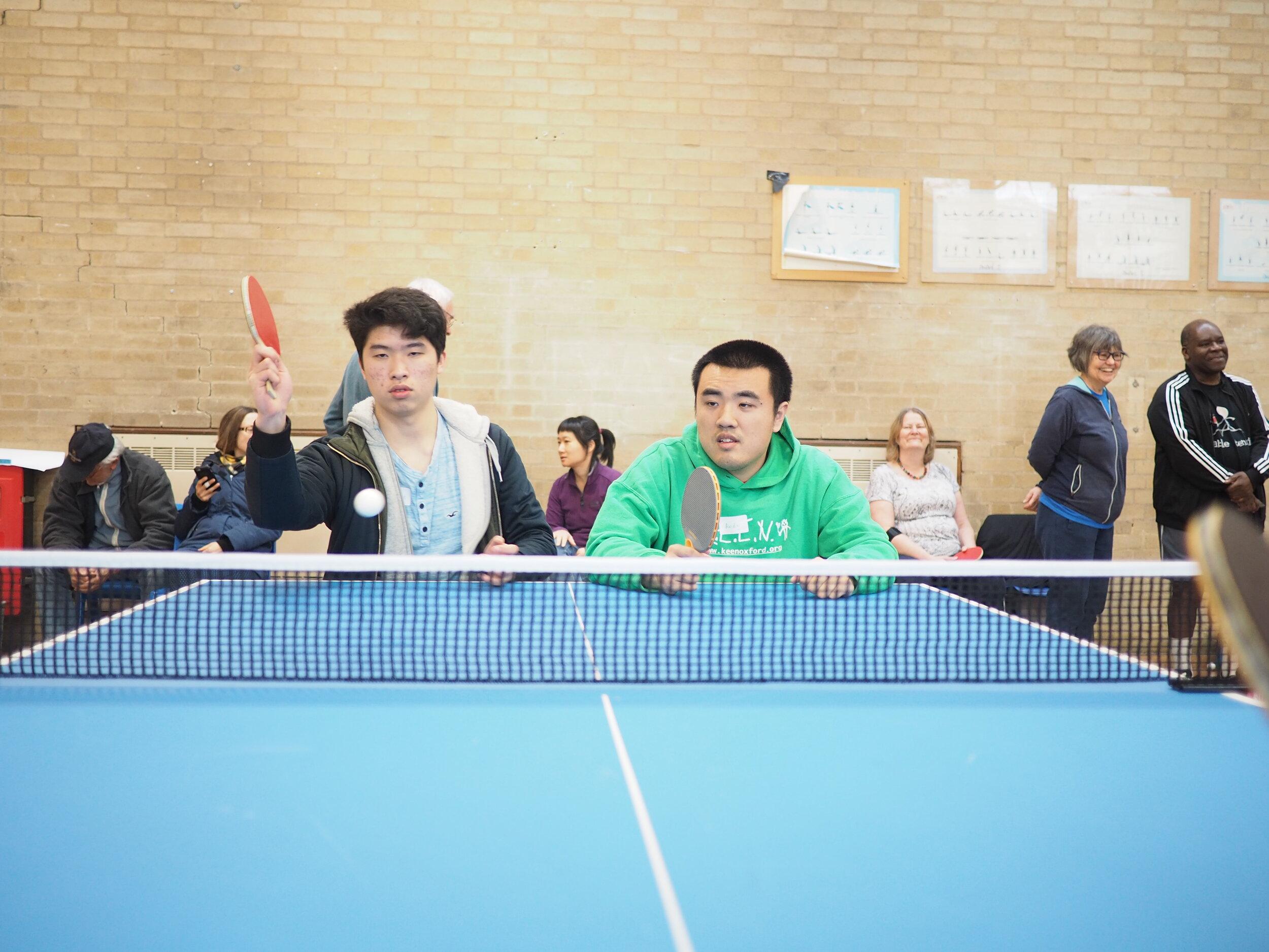 Oxford Community Table Tennis Club