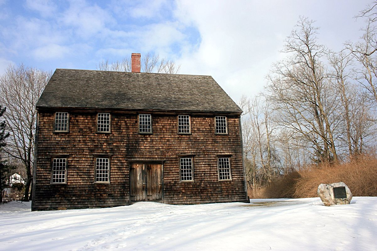 The OBLONG MEETING HOUSE IN PAWLING