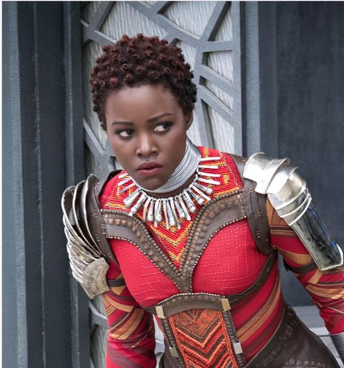 Nakia (Lupita Nyong'o)  Matt Kennedy/Marvel and Disney