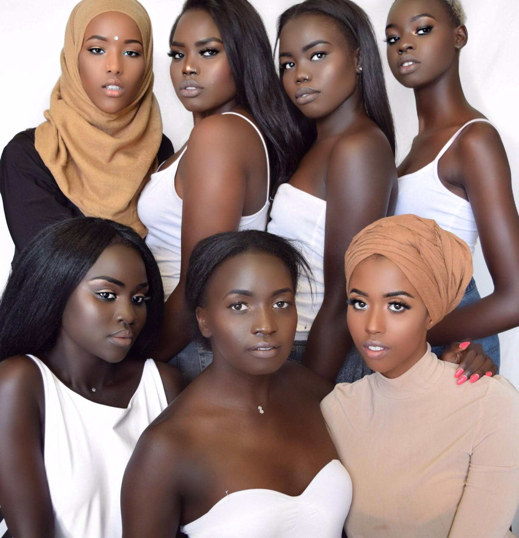 Image provided by Nyedouth (Destiny) Matuet (second-to-the-left on the top row.)