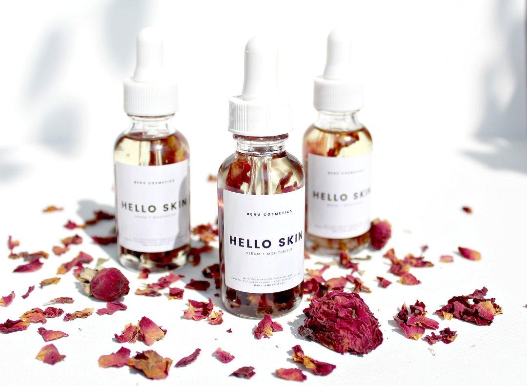 """""""Hello Skin"""" serum.  Image from  Benu Cosmetics"""