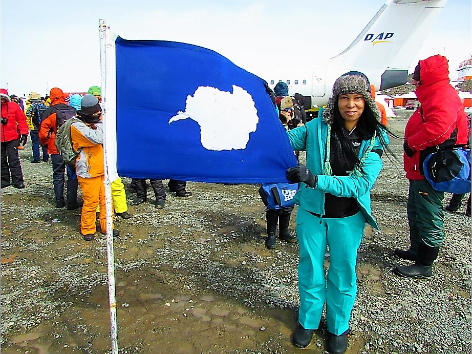 Spotts in Antarctica // Image provided by Spotts
