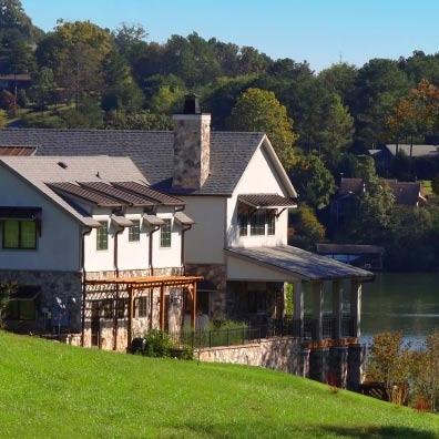 Lake Front Homes -