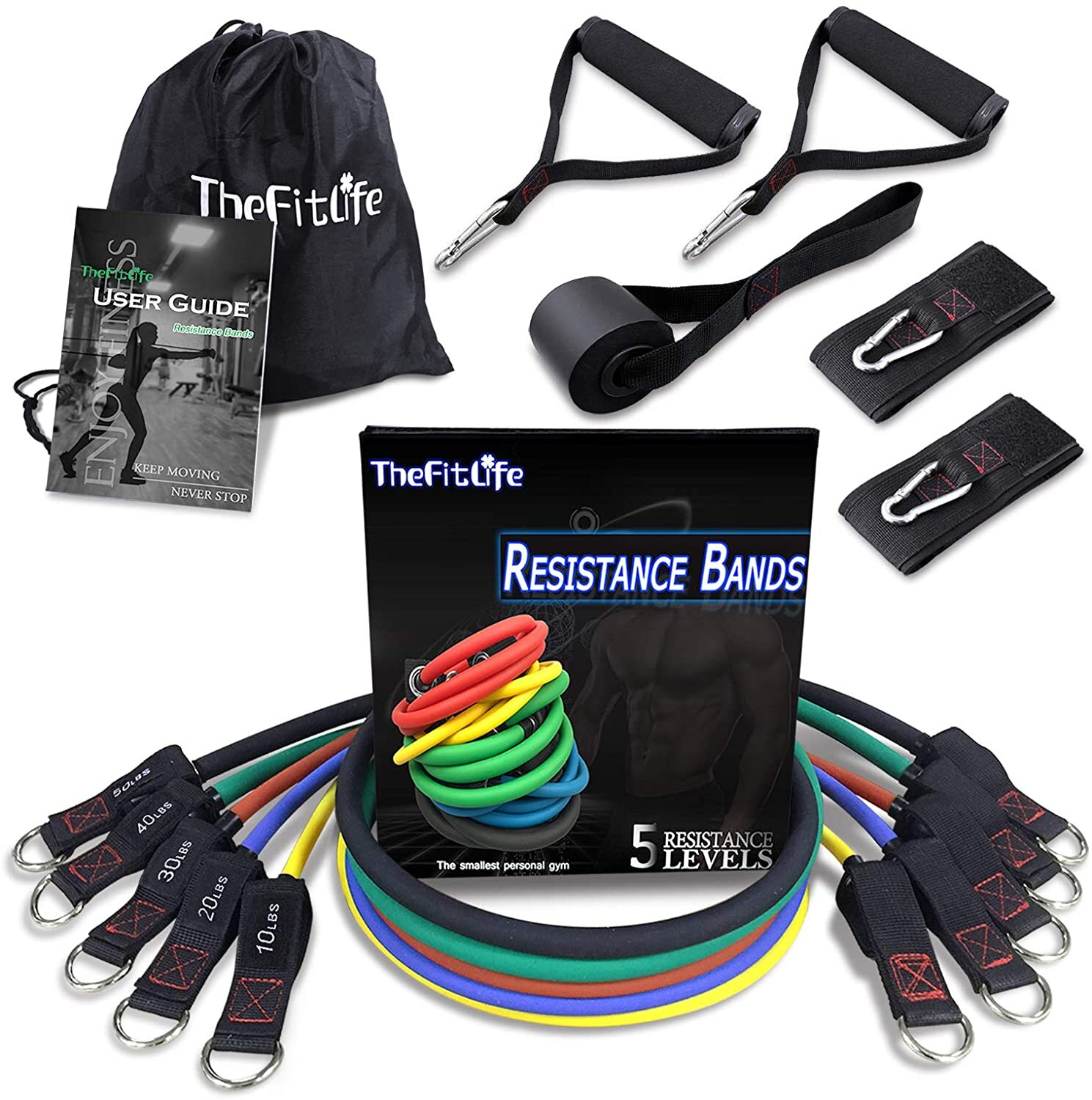 Fitness gift of resistance bands