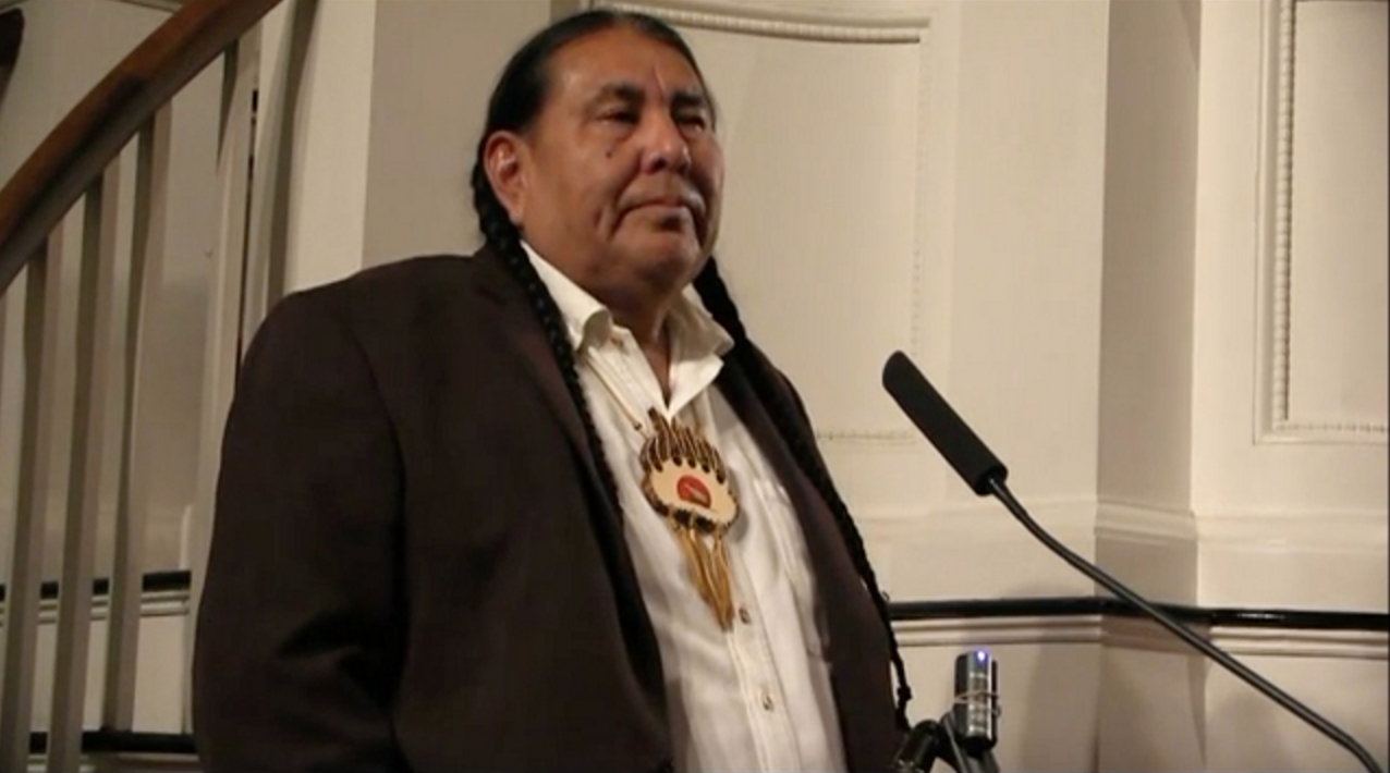Tom Goldtooth,  Executive Director, Indigenous Environmental Network. Bemidji, MN