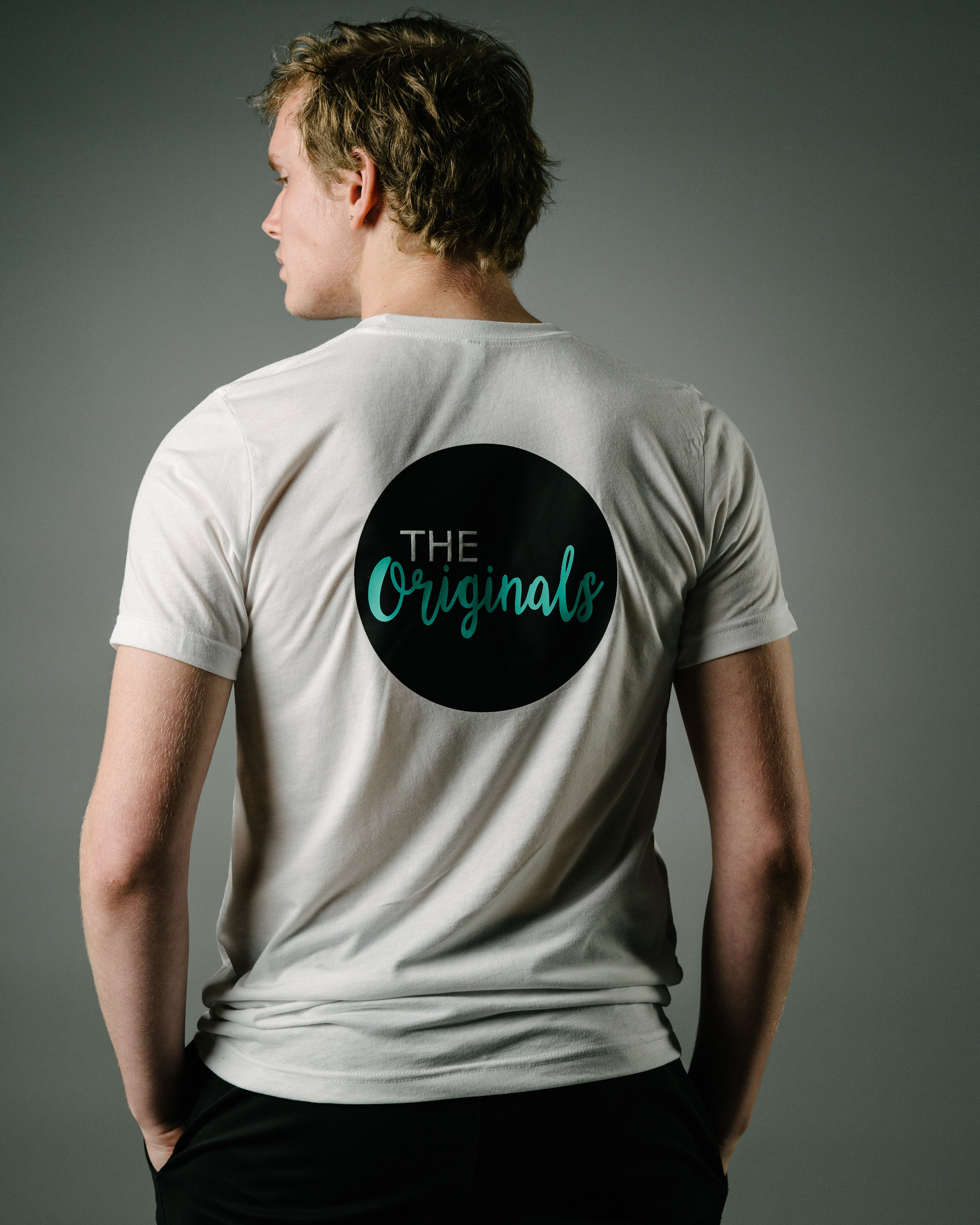 "White ""The Originals"" T-Shirt"