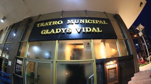 Teatro Gladys Vidal. - Sede Oficial