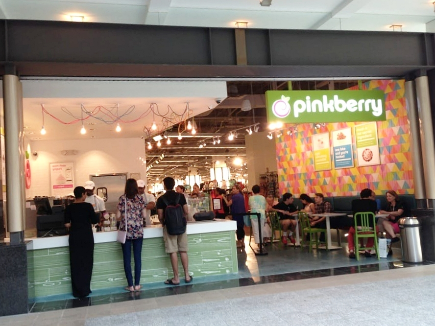 Pinkberry at Lenox Square Mall | Commercial Work by Peachtree Flooring, Inc.