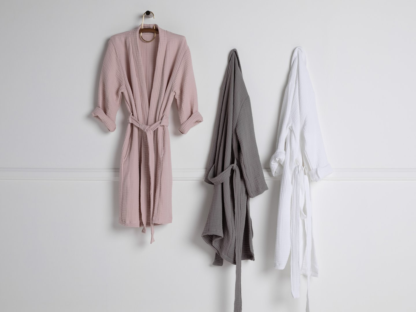 Cloud Cotton Robe - $99