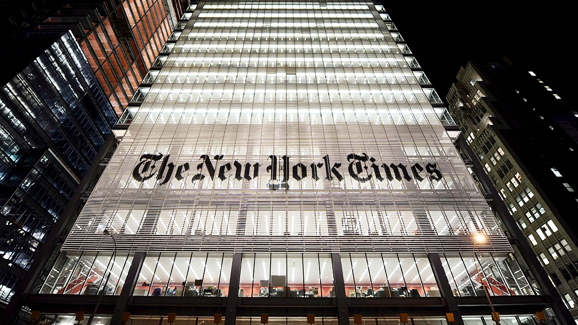 The Weekly, The New York Times first major foray into TV News on FX Channel