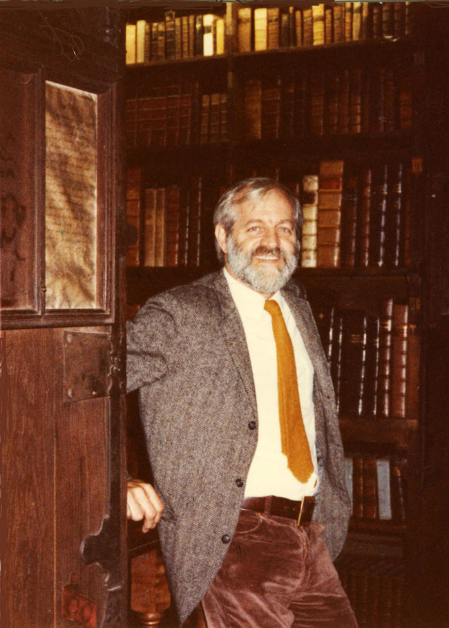 James D. Murray in Corpus Christi College Library