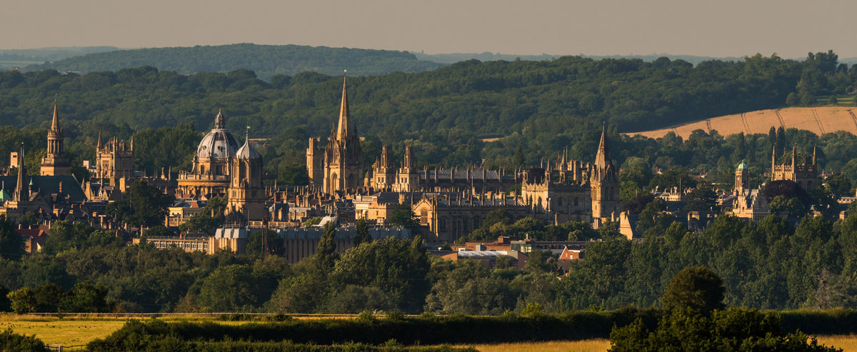 Oxford University from Hinksey Hill