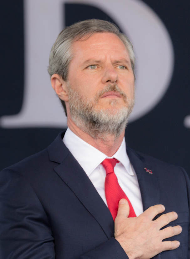 Jerry Falwell, Jr. is the President of Liberty University in Lynchburg, VA.