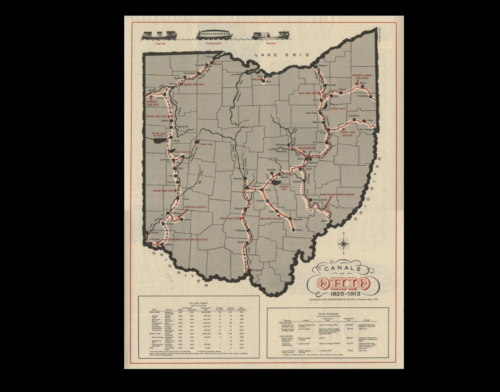 Canals of Ohio (1913)