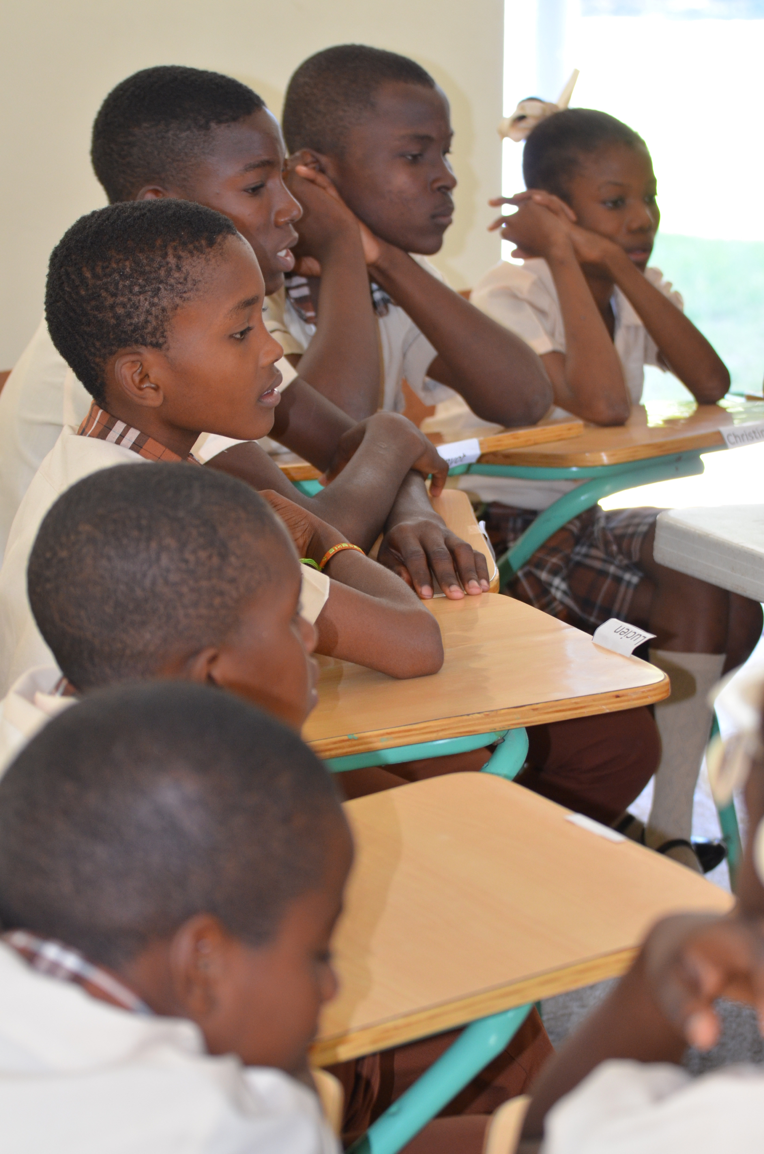 Student Sponsorship - In the fall of 2017, the Académie Chrétienne du Cap Haitïen (ACCH) enrolled 14 students in its inaugural 7th grade class. In September 2018, ACCH added an additional 7th grade class, bringing total enrollment up to 39 students in two grades. Our hope is to add a new 7th grade class every year for the next five years until the school consists of grades 7 to 13 with up to 25 students in each grade. Students are financially sponsored by DRM as the $500 per pupil per year cost of schooling is simply well beyond the means of Cap Haitian families. Please prayerfully consider partnering with this initiative through our student sponsorship program.The goal of this sponsorship program is to identify children who possess the skills and abilities to graduate from high school. DRM will also supplement their education by teaching community-centric vocational and leadership skills. We expect these students to give back to their communities by spreading their knowledge to others, leading to the betterment of Haiti. Please consider sponsoring an ACCH student for an entire year with either a monthly donation of $42 or a one time gift of $500.