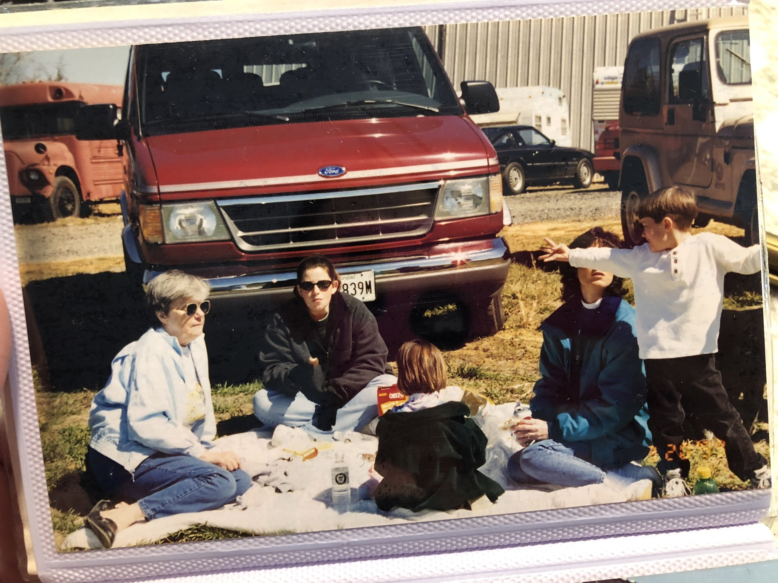I am struggling with the fact the little boy in this picture wearing the white shirt is GETTING MARRIED NEXT YEAR!! Also, RIP Mommom