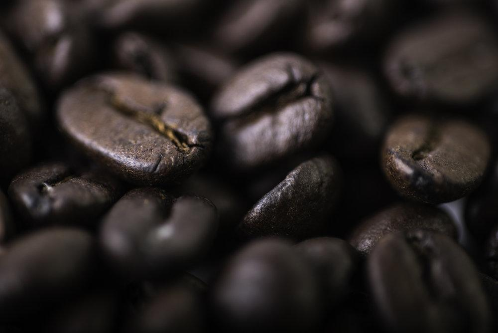 Dark Roasted Coffee Beans -