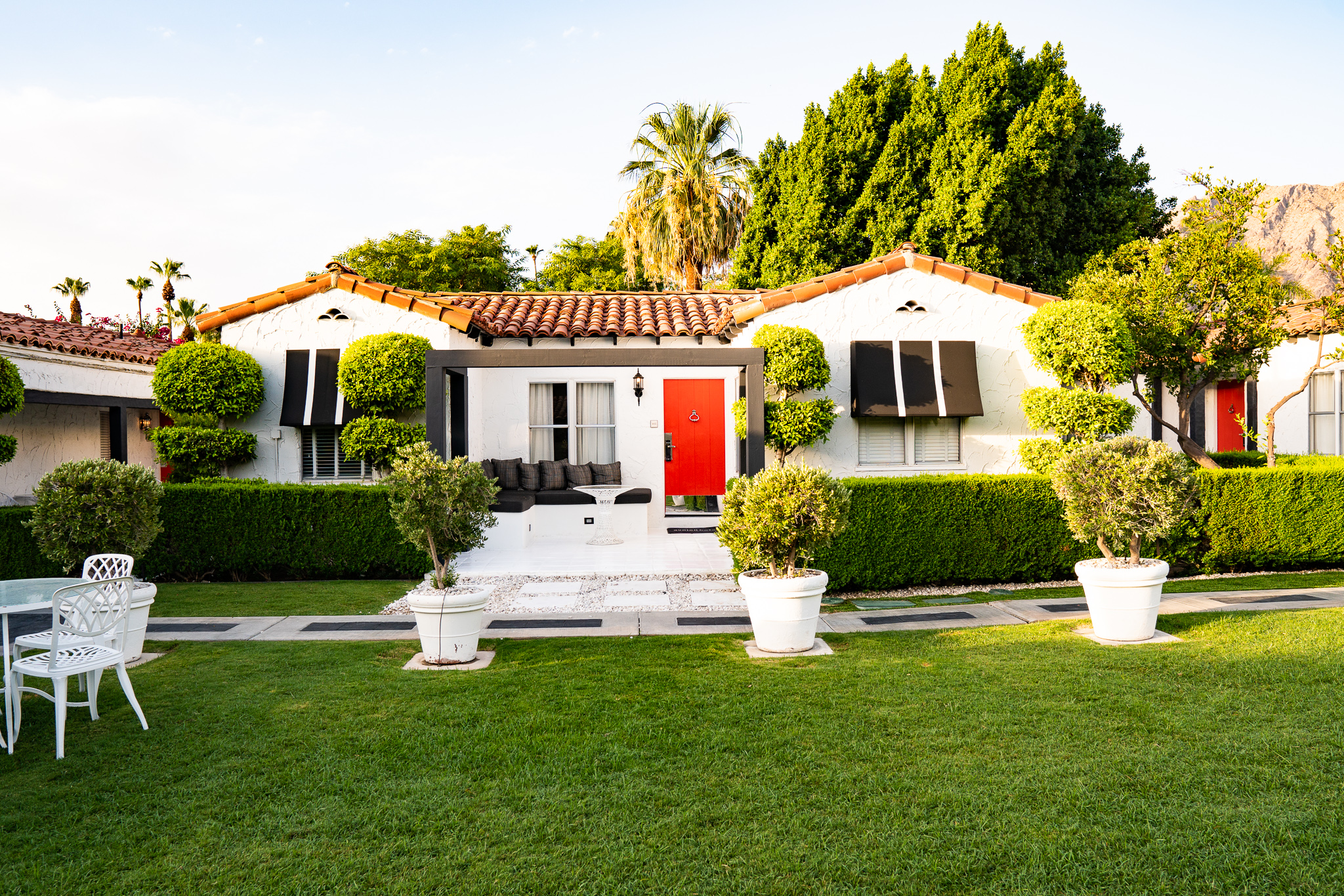 Bungalows at Avalon Hotel, Palm Springs
