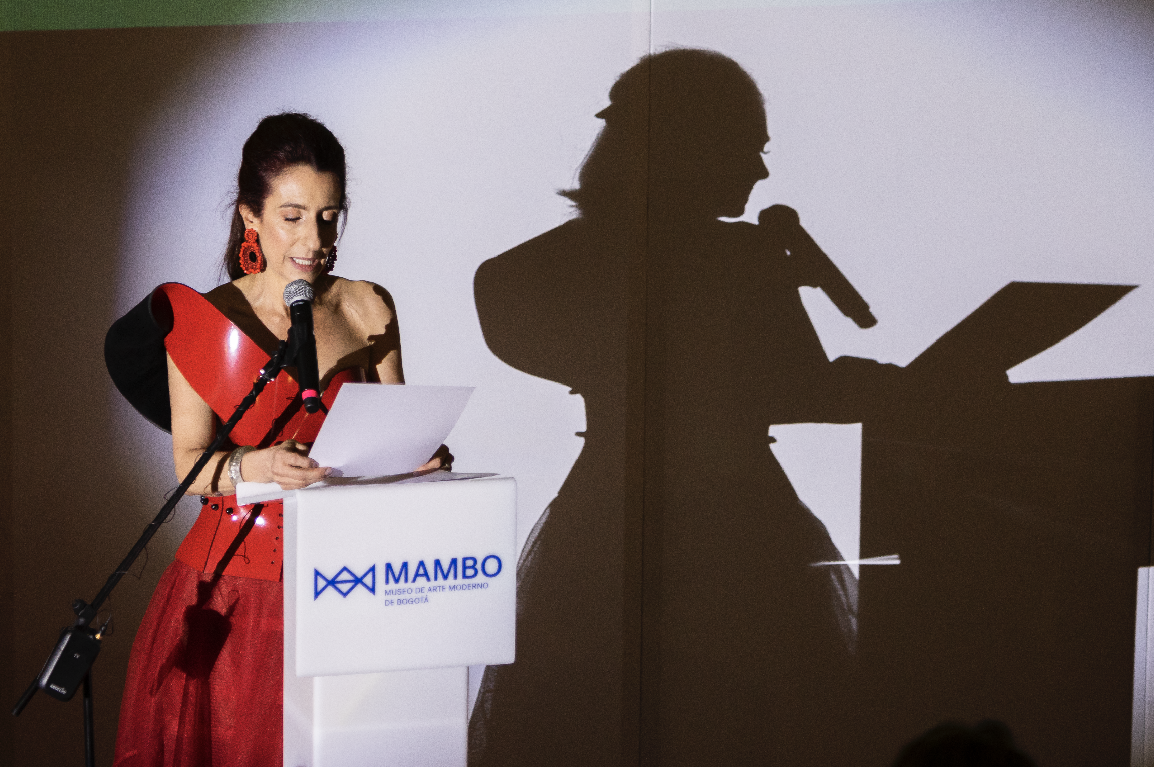 Palabras de la Directora Claudia Hakim y entrega del Primer Premio MAMBO a la Filantropía en las Artes, Gala MAMBO 2018