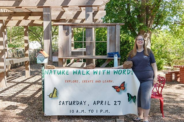 We had so much fun at our annual Nature Walk with Words event @thebotanicgardenatosu !! Thank you to everyone who participated and made it a success 🙌🏼🍃🌸🌲🌷📝🦋