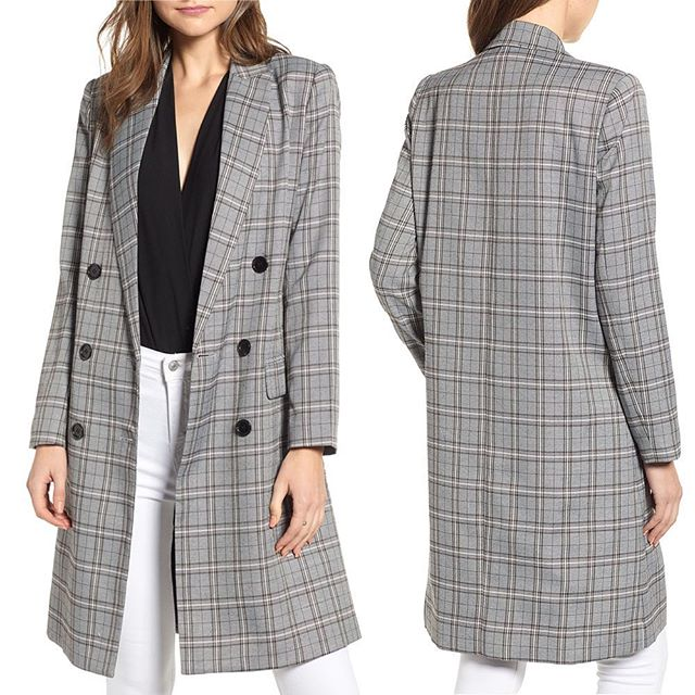 Longline Glen Plaid Blazer Now Available @Nordstrom Online and Select Full Line Stores! . . . . . #muralclothing #nordstorm #savvy #contemporary #fashion #fblog #style #plaid #plaidblazer #longblazer #womenswear #fallfashion #blazer #ootd #fashionblazer #chic #jackets #outerwear #instastyle