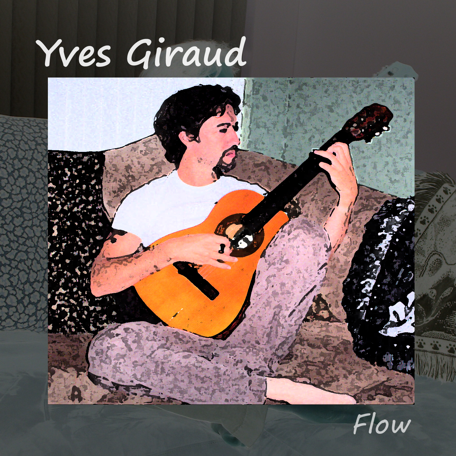 Flow  - 10 original instrumental songs - Recorded and produced by Yves Giraud at Studio M31, Hollywood Florida. Release year: 2005.