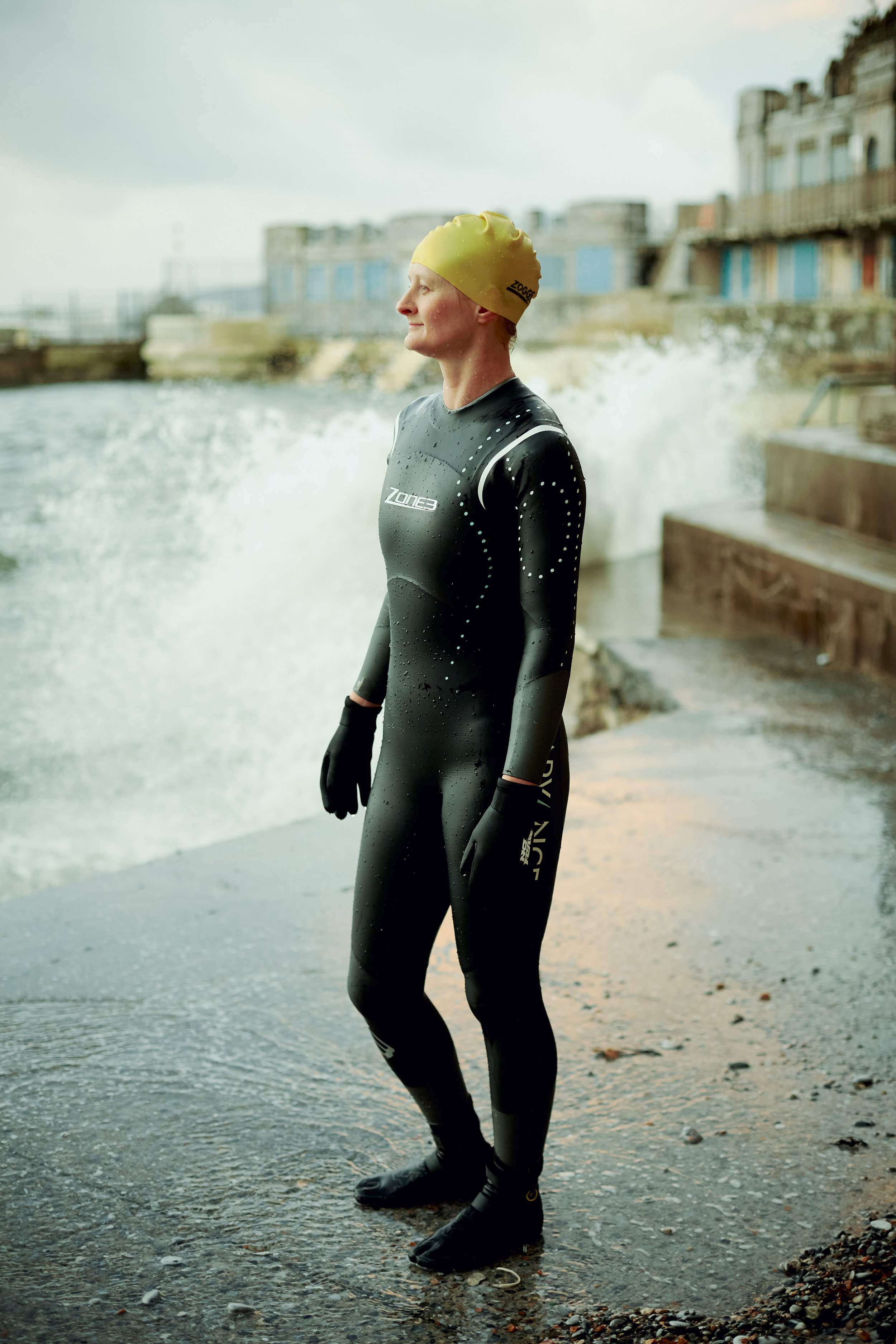 Holly - Sea Swimmer - Plymouth Hoe 2015