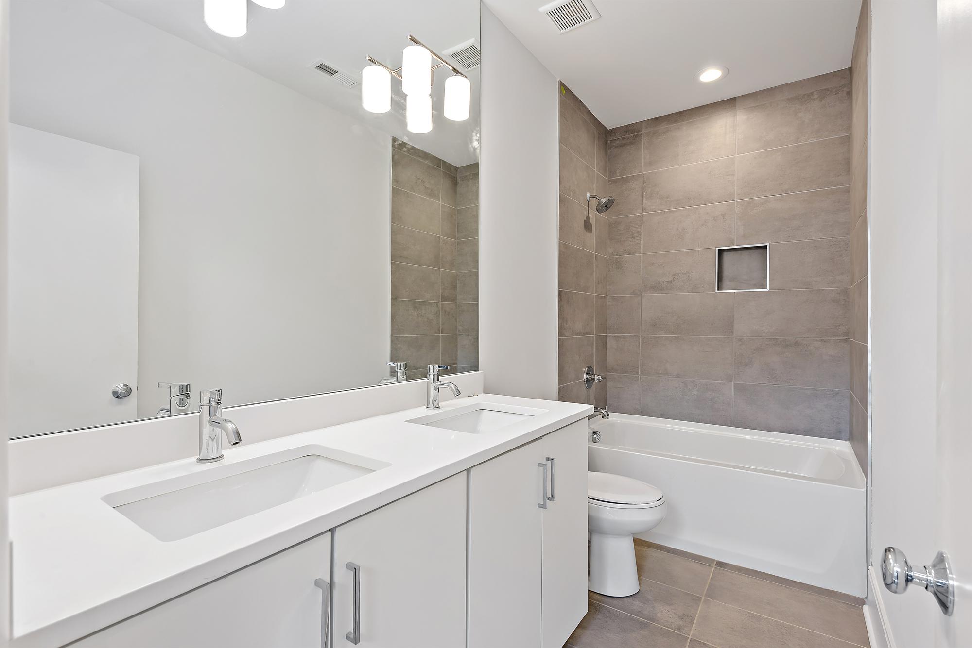 Shared upstairs bath