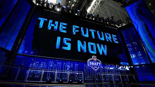 "RBG is showing the 2019 NFL Draft LIVE on the big screens tomorrow starting @ 5PM!!! Make sure to join us early for Happy Hour (3PM-6PM) to ensure your seat! It's also ""Kick the Mule"" Thursday so come enjoy a refreshing bevy or two!!"