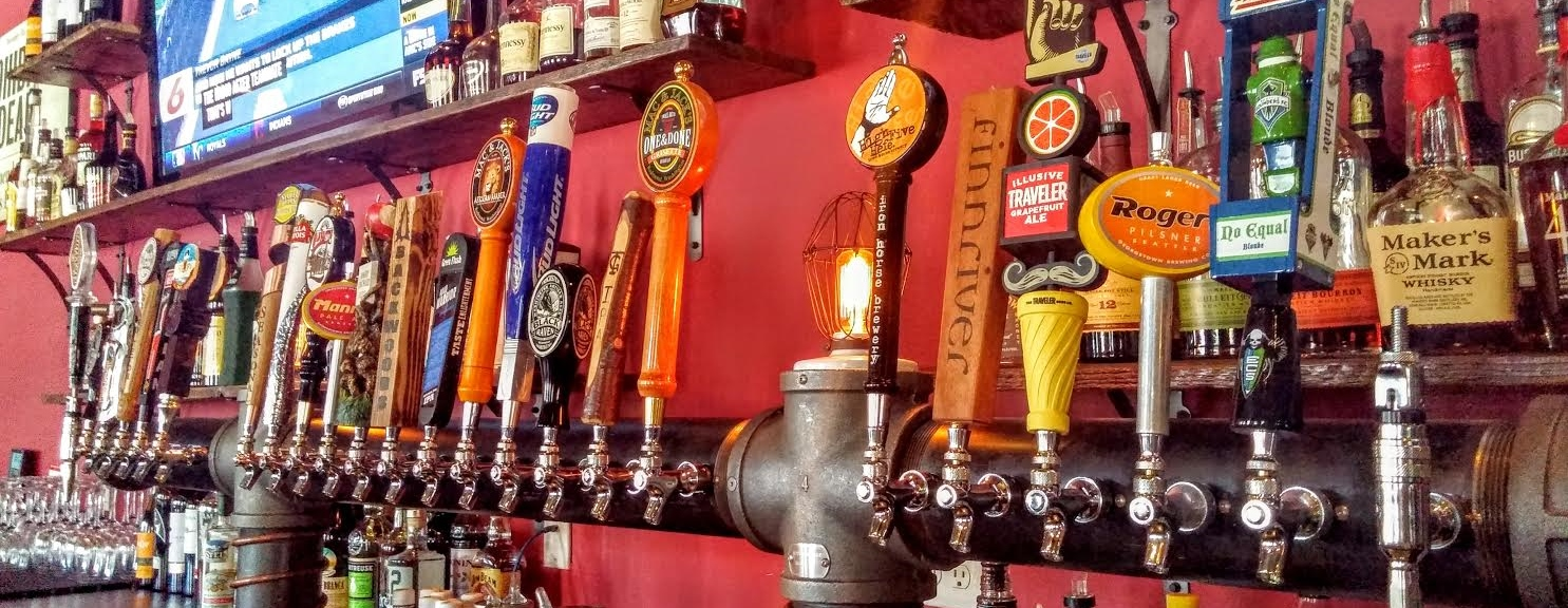 RBG has 24 cold craft beers on tap!