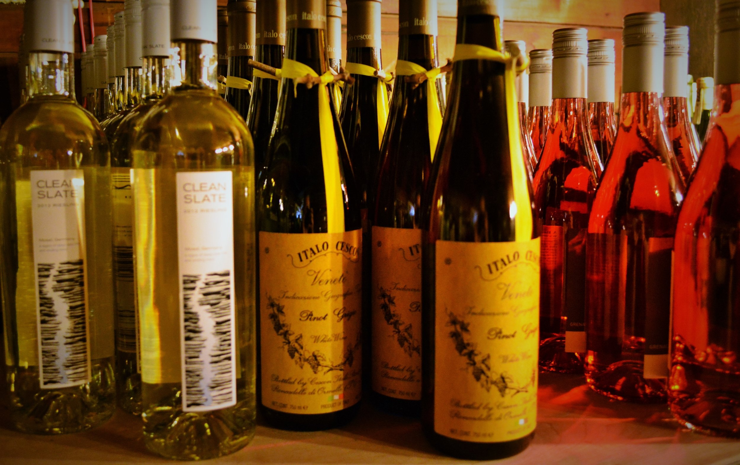 RBG has a full selection of wine for you to enjoy!