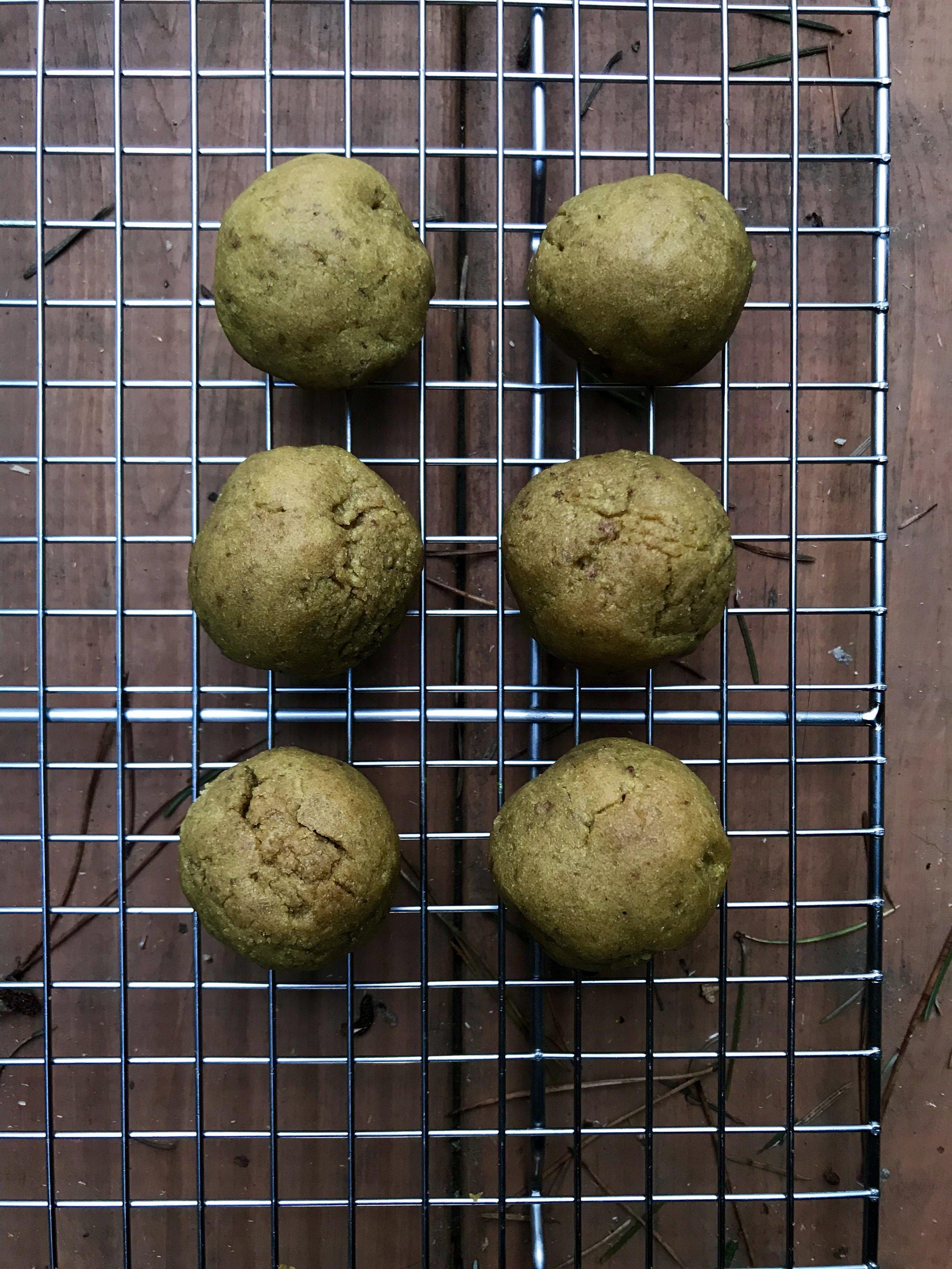 walnut biscuits vegan