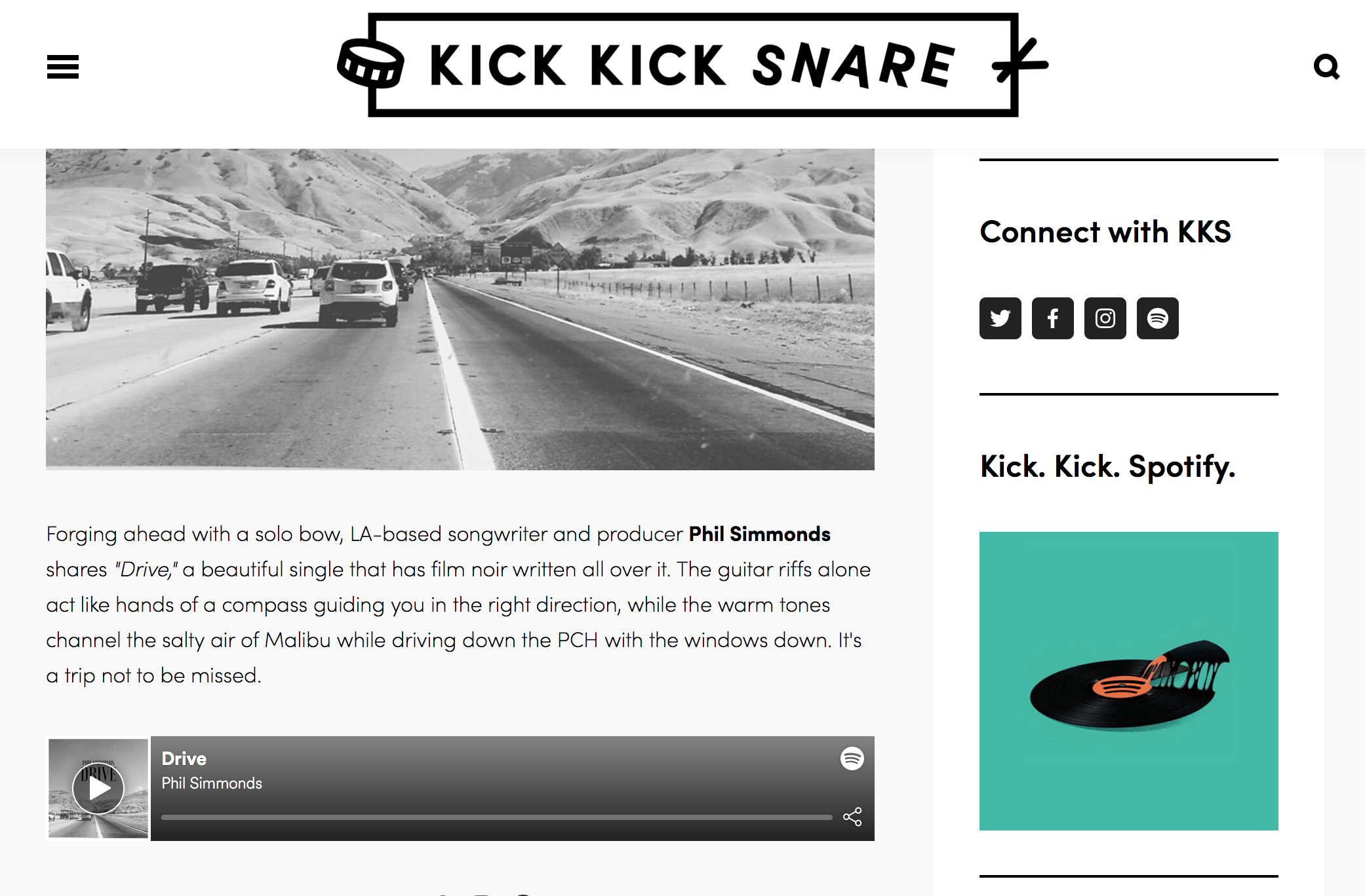 Kick Kick Snare -