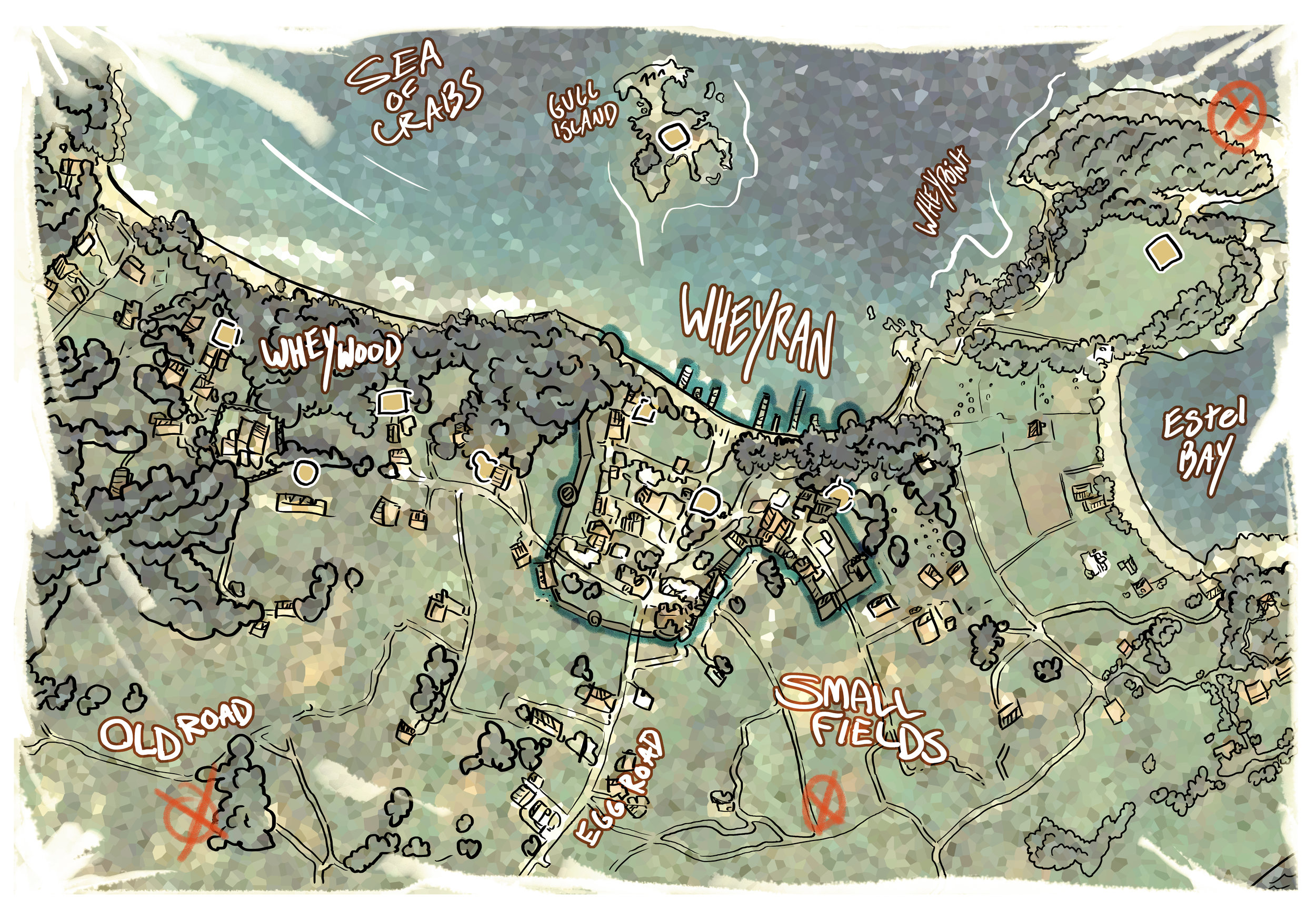 Map of Wheyran