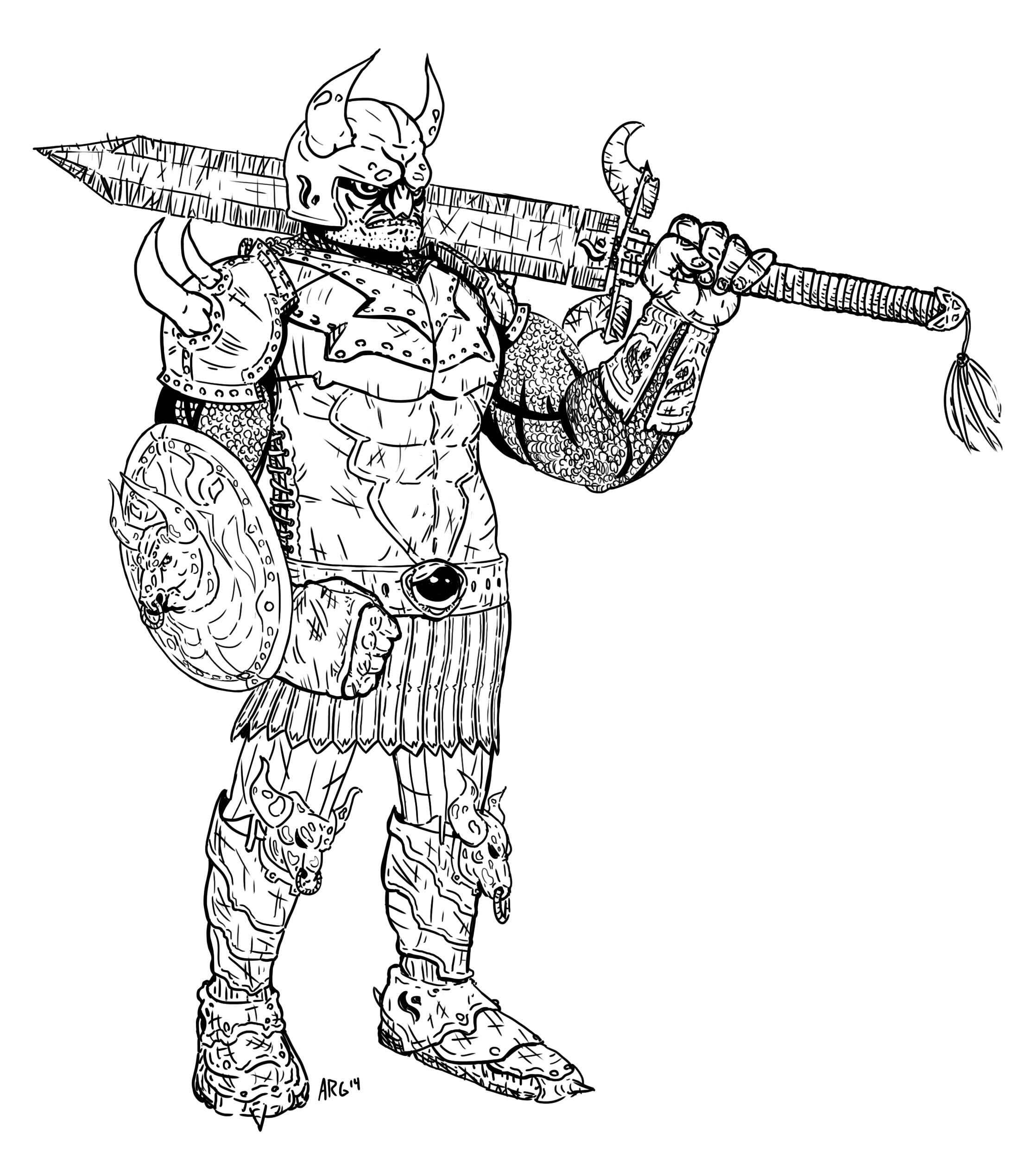 Batten Soldier