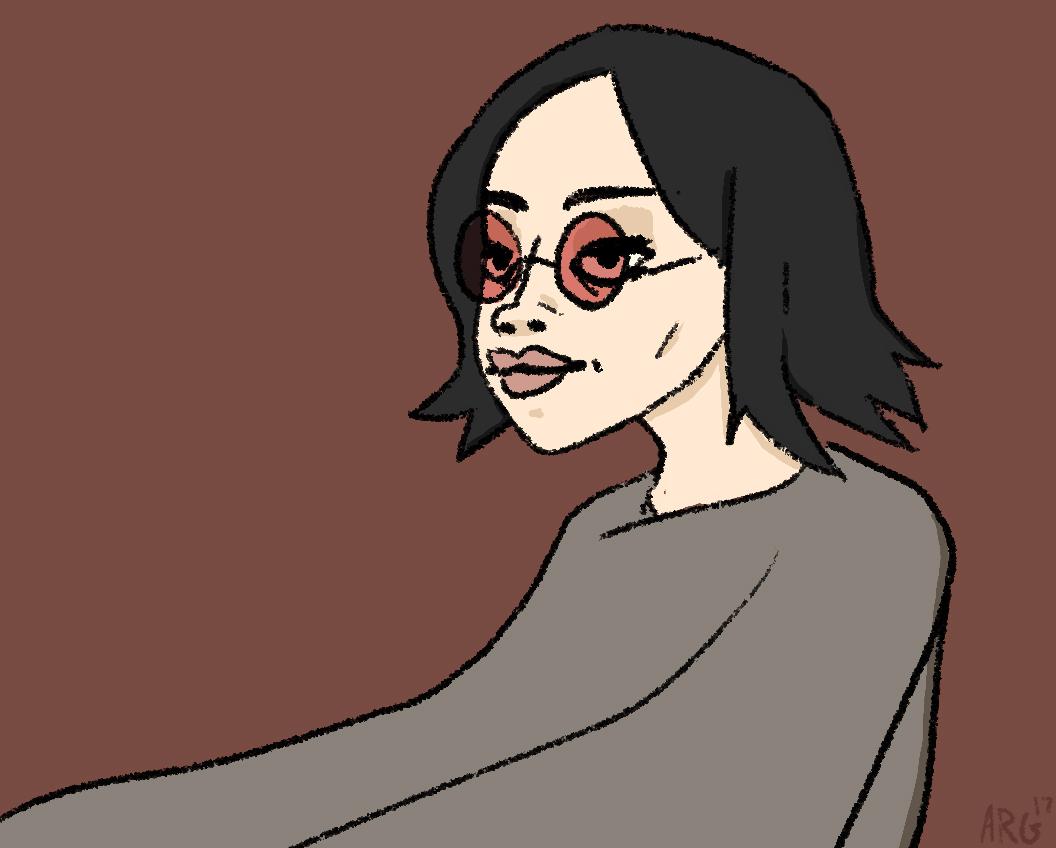 Cartoon Portrait - Caitly Rosen