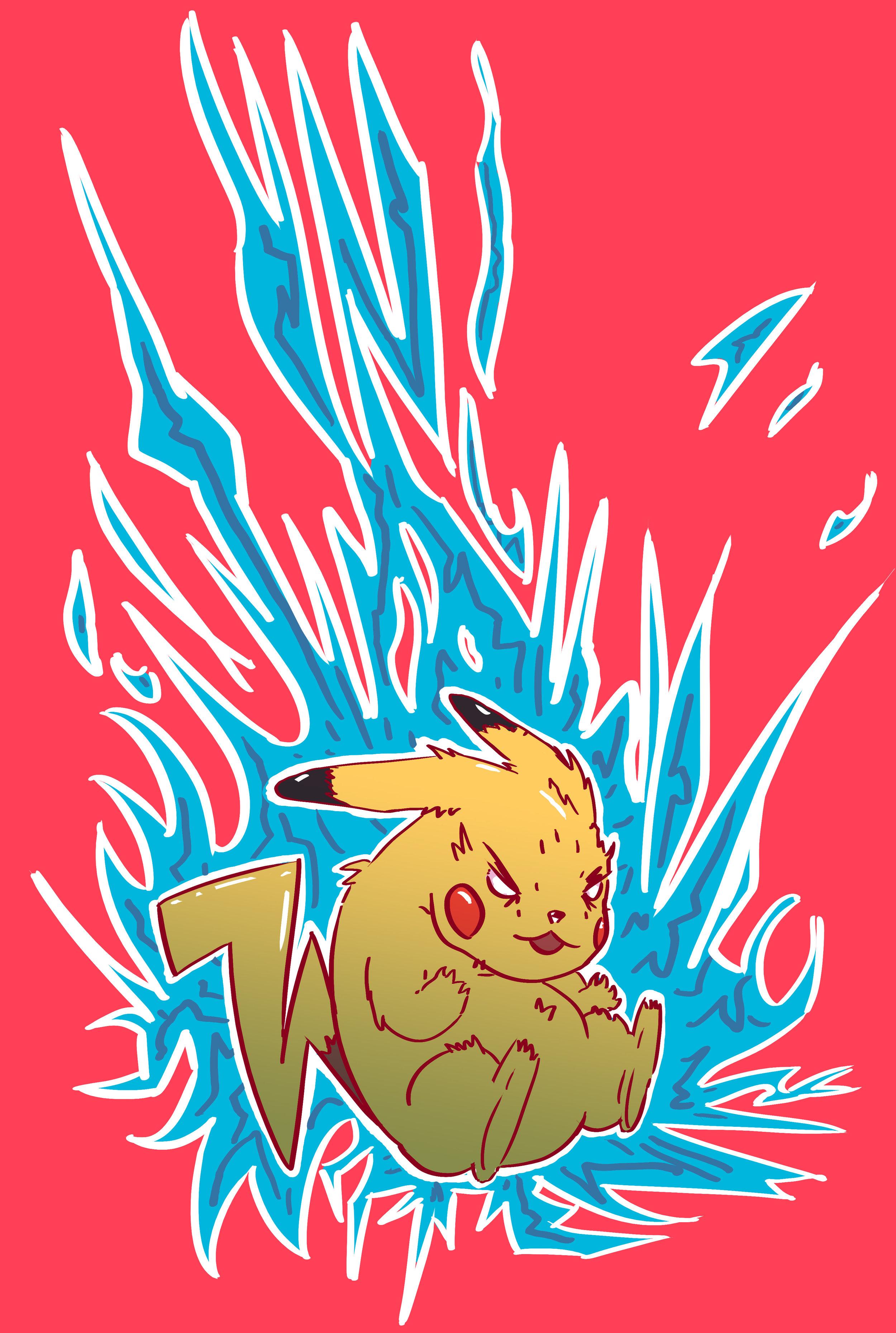 Pikachu - Thunder