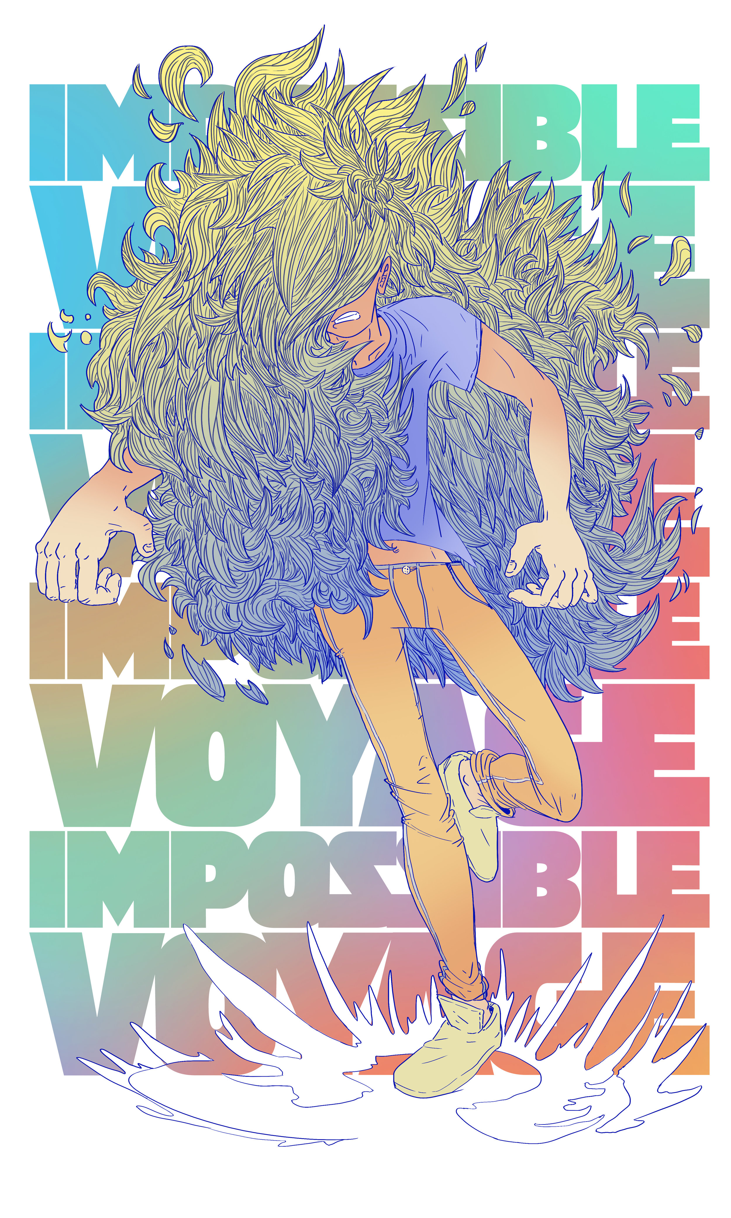 "Impossible Voyage ""Hairsplosion"""