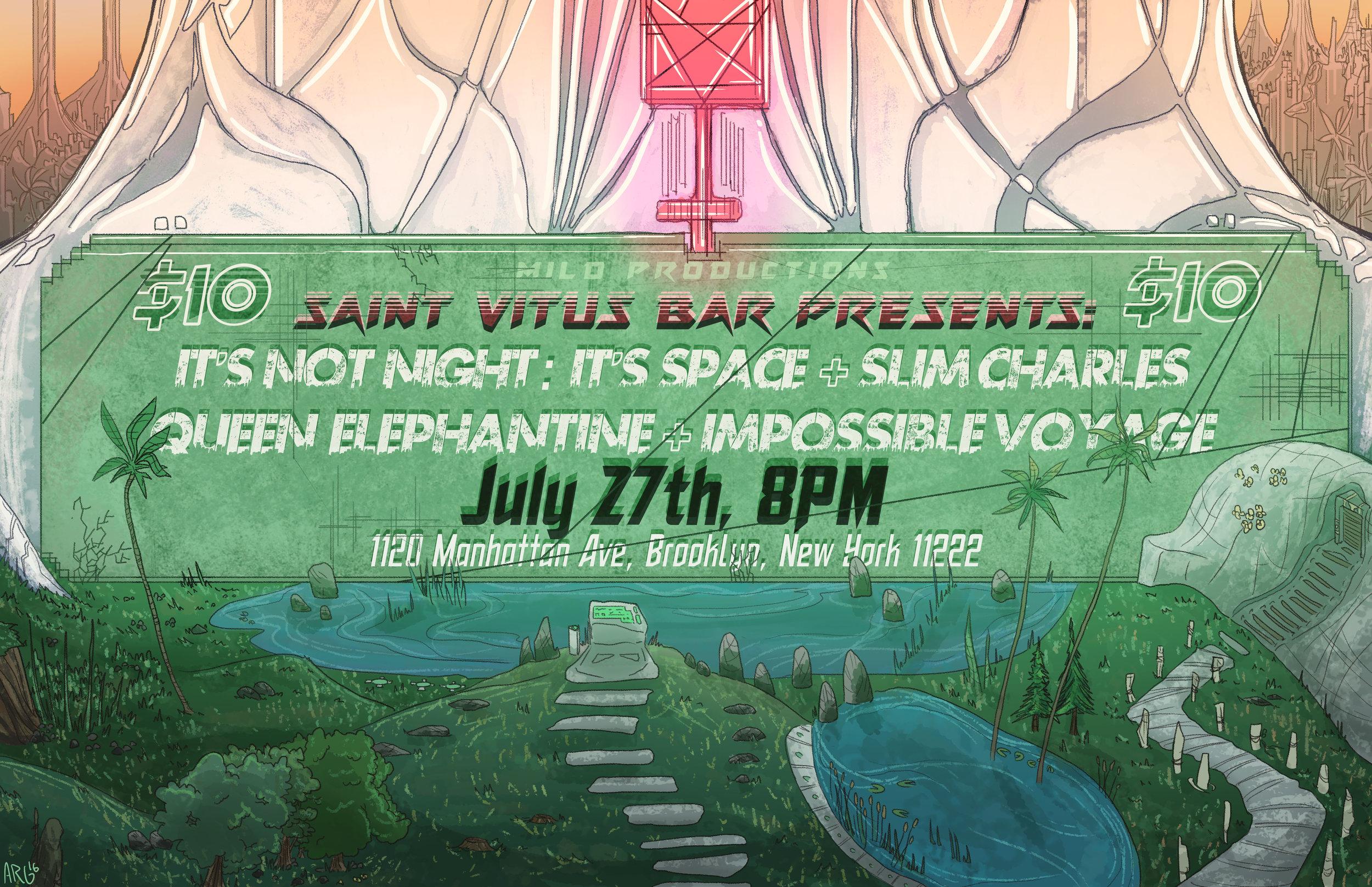 Saint Vitus Bar - 7/27/2016