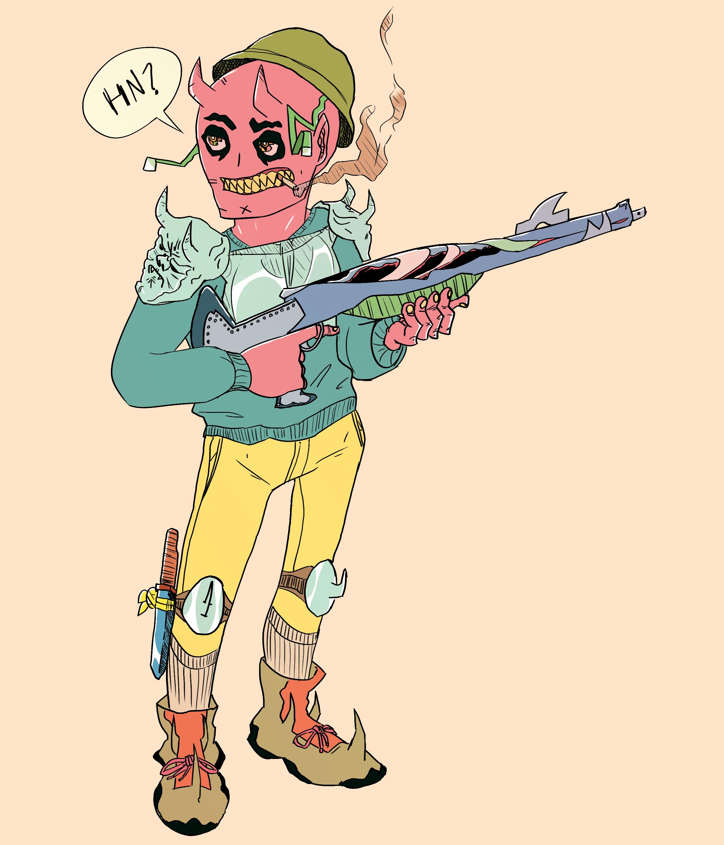 Chill Demon Soldier