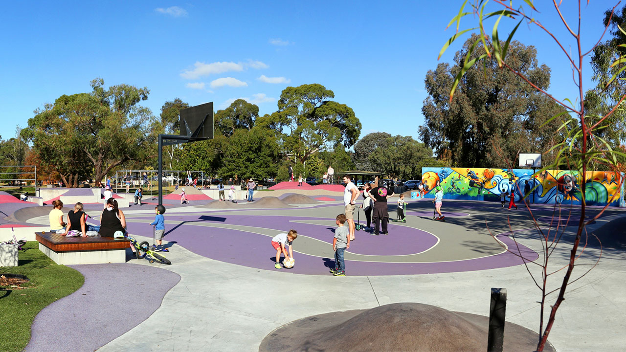 Ballum Bumps Regional Play Space — Projects