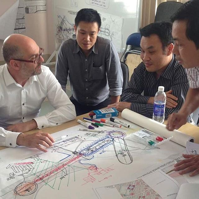 Drawn out of mutual respect and collaboration, the Da Nang Railway Connectivity Improvement and Urban Design Redevelopment Study project by @hansenpartnership demonstrated cross-cultural knowledge exchange and building the capacity of 15 local Vietnamese professionals through an intensive nine month exercise in best practice approaches to landscape architecture, urban design and planning. . . 2018 NATIONAL LANDSCAPE ARCHITECTURE AWARD - INTERNATIONAL . . #landscapearchprojects #landscapearchitects #landscapearchiture #landscapearch #danang #urbandesign #redevelopment #vietnam #international #liveabillity #lamdscapeplanning #cities #study #crosscultural #planning #asiapacific #designedbyalandscapearchitect #aila . . @aila_national