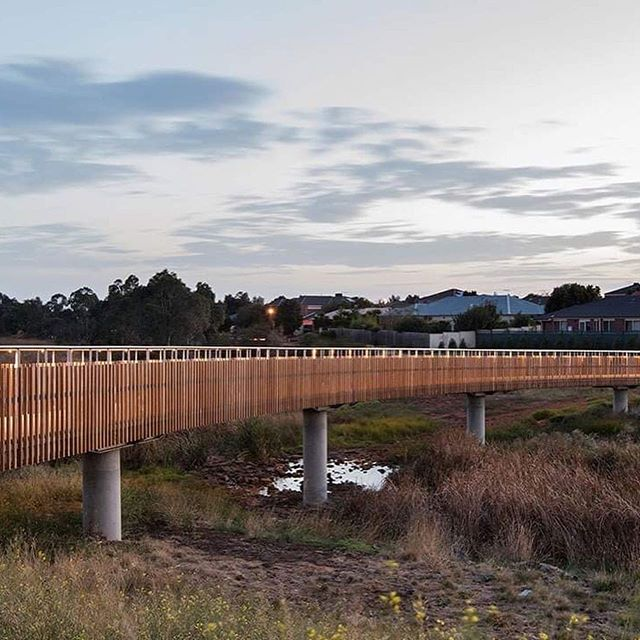 The Skeleton Creek Bridges project by Site Office is testimony to what landscape architects can offer. The Council's initial preference was a standard procurement process using off-the-shelf components. . . 2018 NATIONAL LANDSCAPE ARCHITECTURE AWARD - INFRASTRUCTURE. . . 2018 VIC LANDSCAPE ARCHITECTURE AWARD - INFRASTRUCTURE. . . #landscapearchprojects #landscapearchitects #landscapearchiture #landscapearch #skeletoncreekbridges #siteofficelandscapearchitects  #siteoffice #infrastructure #landmangement #landscapeplanning #environment #liveabillity #bridges #truganina #vic #designedbyalandscapearchitect #aila . . @aila_national @aila.victoria