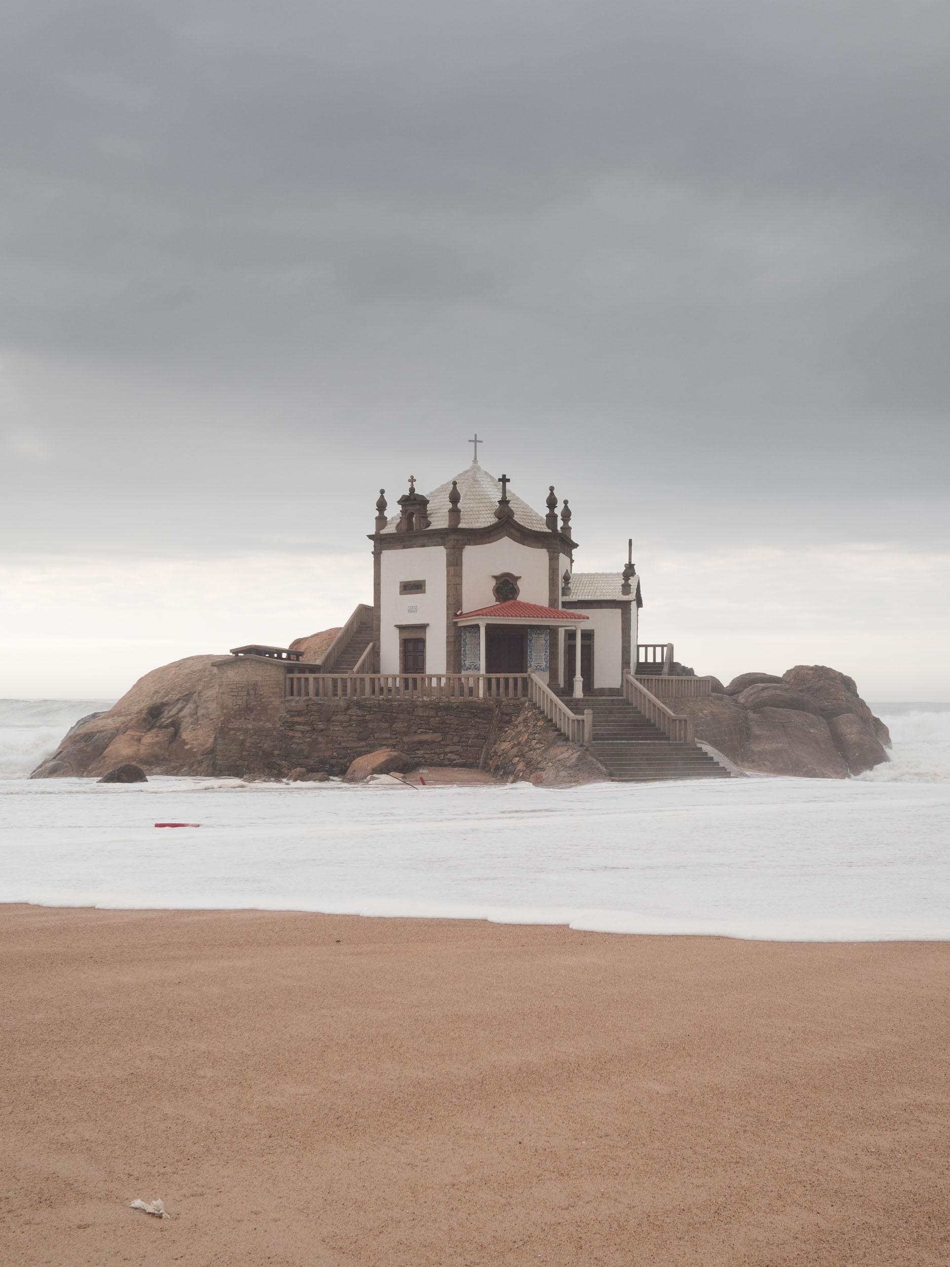 Chapel of Senhor da Pedra in Portugal.