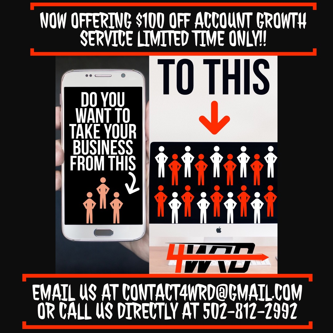 account growth special with 4wrd