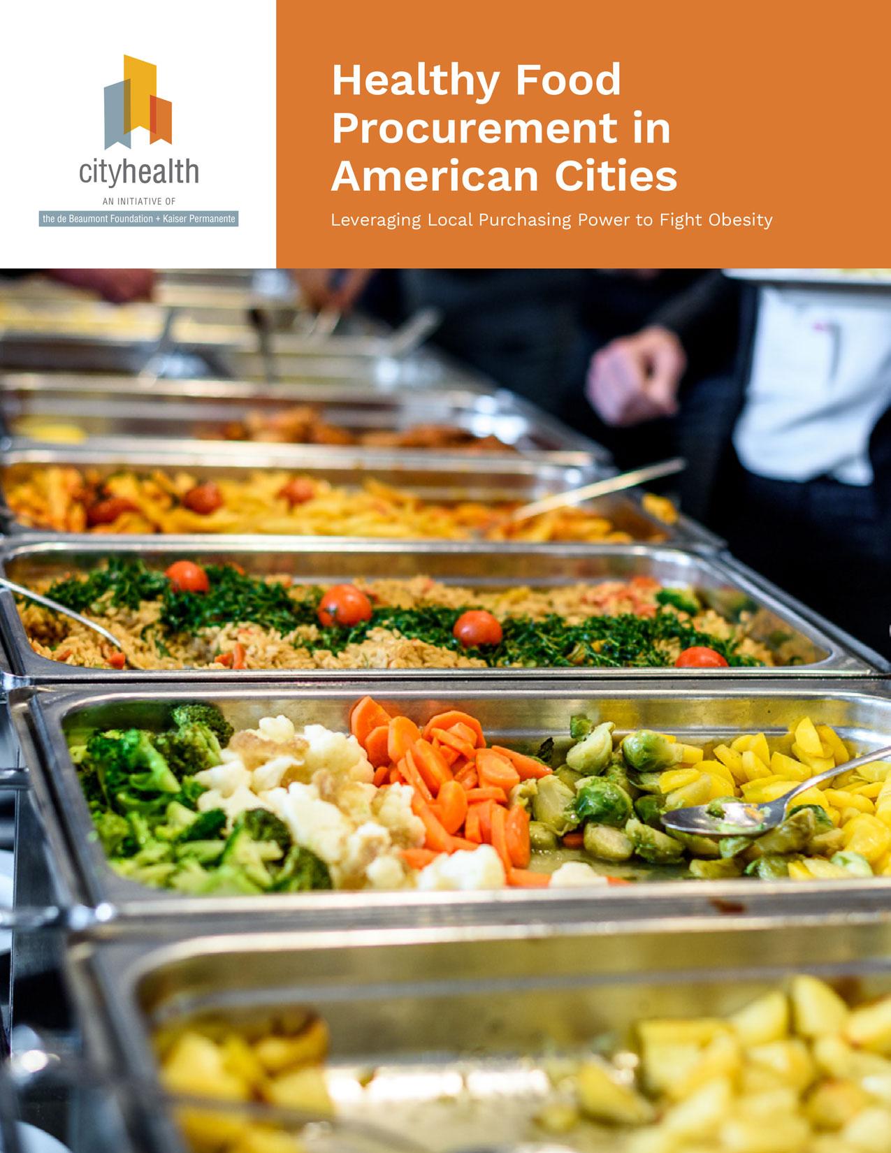 Healthy Procurement in American Cities ; October 2019
