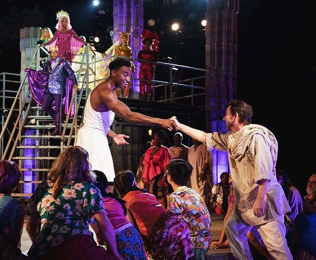 We closed HERCULES last night!!! This show has been quite the journey and I feel so proud and thankful to have been a part of it❤️💛💚💙💜#publicworkshercules #wearepublicworks