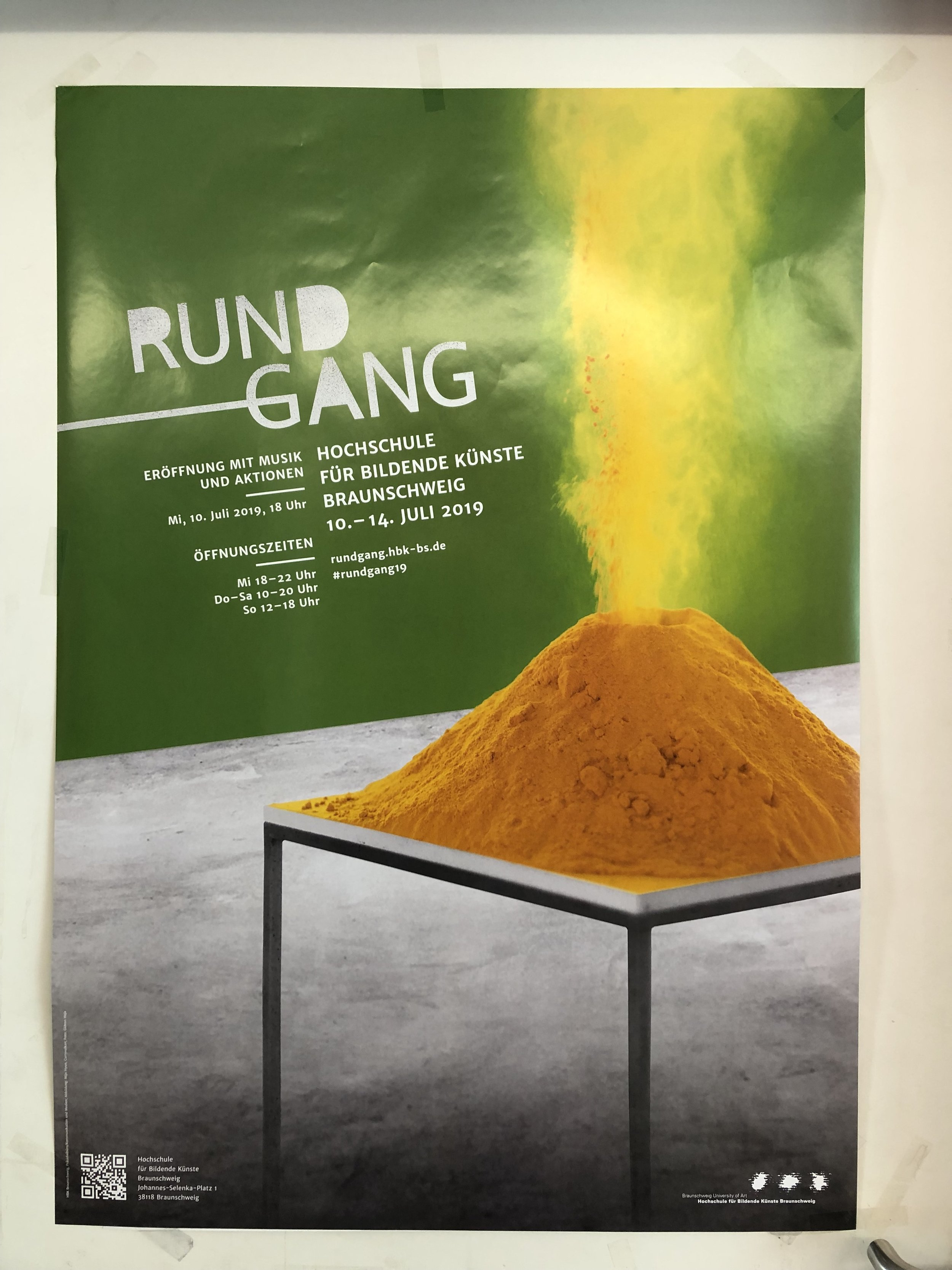 - Showing work at HBK Rundgang for this year, July 2019Rundgang posterThe Rundgang or Open doors is an annual event where art students and scholars show work and open their studios for a sequence of 3 days full of talks, performances, and all kind of art.I am showing new work from my current project (Was that really you?) that looks into Egyptian Tabloids, specified in sensational crime stories and celebrities gossip, as a public platform using images of women.