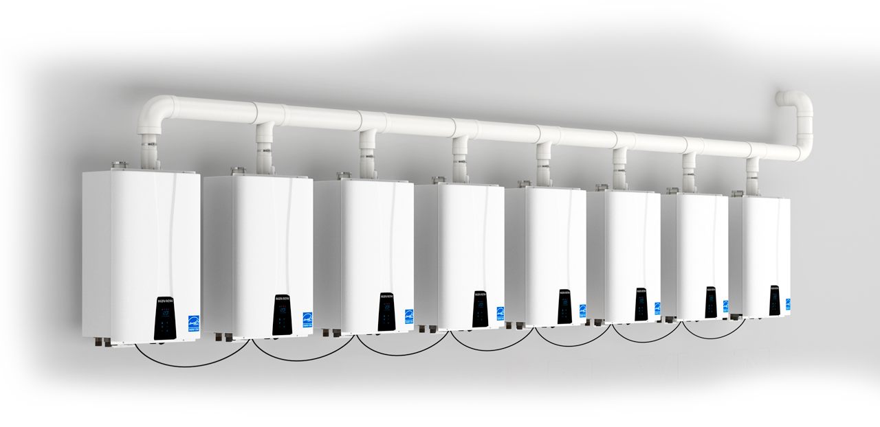 Navien Tankless Water Heaters and Boilers    Learn More