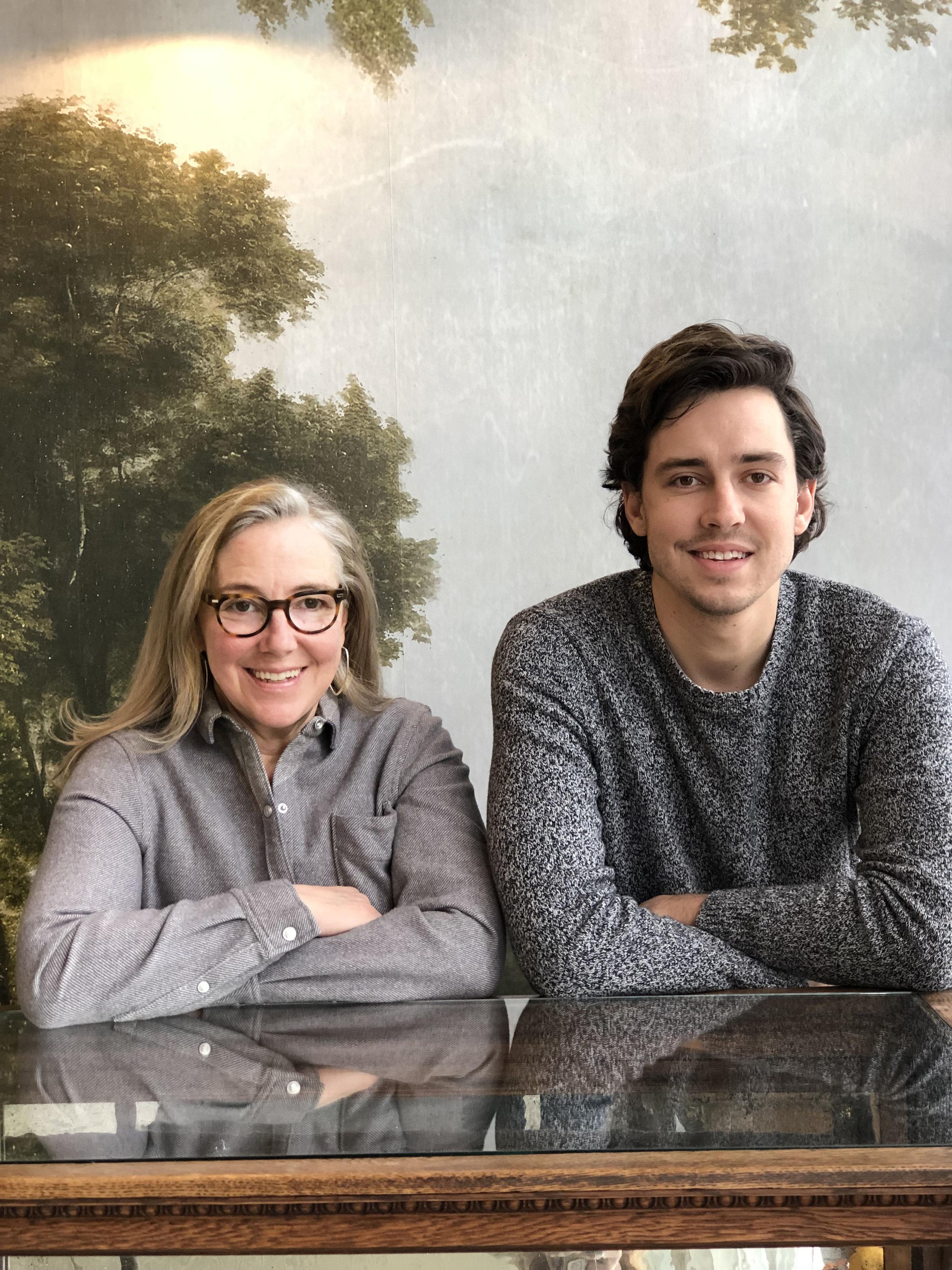 Kelley Hall-Barr and Ian VanDam